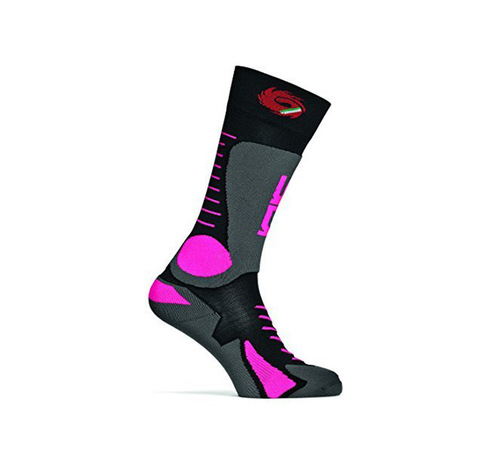 Sidi Tony Socks Black Pink Fluo