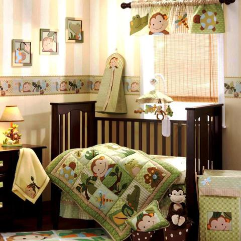 Постельное белье  в кроватку в сатине ТМ Вальтери Россия DK-04