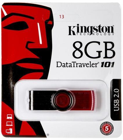 Флеш-накопитель 8 Gb Kingston
