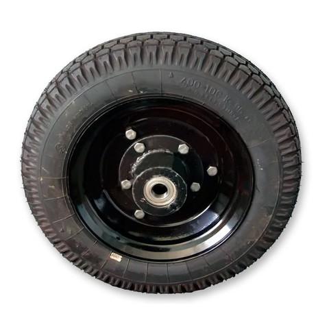 Колесо для телеги ТМ-250,360 (4,00*10 со ступицей)