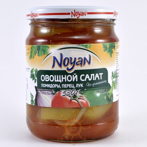 Овощной салат Noyan, 530г