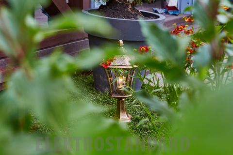 Virgo S черное золото ландшафтный светильник IP44 GLXT-1450S