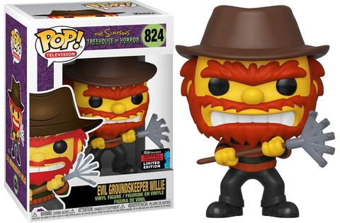 Фигурка Funko POP! Vinyl: NYCC Exc: The Simpsons: Evil Groundskeeper Willie (Exc) 39726