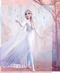 Белое платье Эльзы
