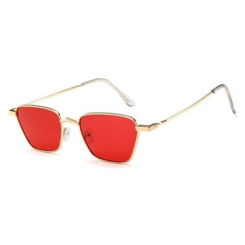 Солнцезащитные очки 9002s Красный - фото