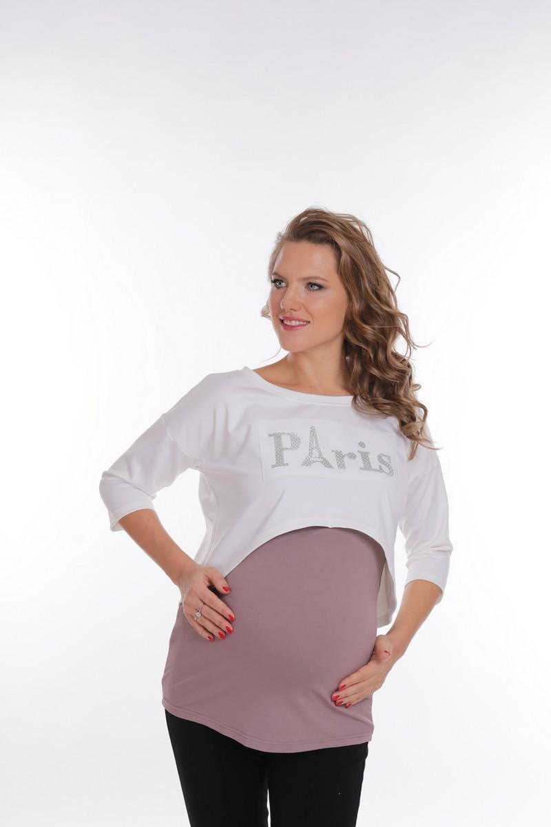 Блузка для беременных 09197 белый