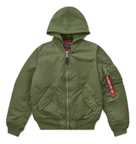 Бомбер Alpha Industries МА-1 Natus W Sage Green Женский (Зеленый)