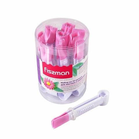 8468 FISSMAN Набор из 10 щипцов для мастики и марципана 10x1,2 см,  купить
