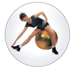 """Мяч """"GYMNIC ARTE"""" (fantasy) для занятий лечебной физкультурой с антиразрывной системой"""