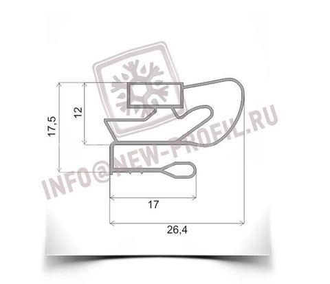 Уплотнитель 32*55,5 см для холодильной витрины Golfstream,Двина. Профиль 009