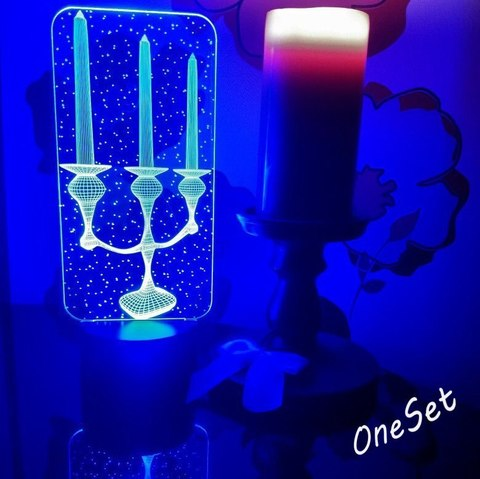 Лампа Подсвечник (канделябр)