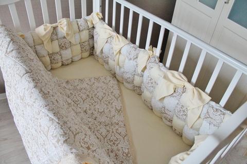 Комплект в кроватку Bombon, на 4 стороны кроватки