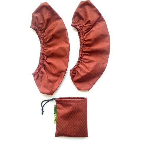 Бахилы (35-46 размер) взрослые Коричневые (с мешочком)