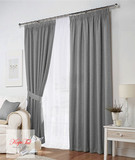 Комплект штор Тоскана (серый)