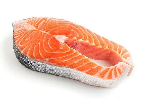 Стейк из лосося, охлажд. цена за 100 гр.