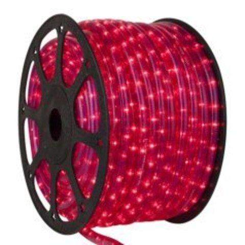 Гирлянда красный светодиодный шланг Delux дюралайт лэд LED