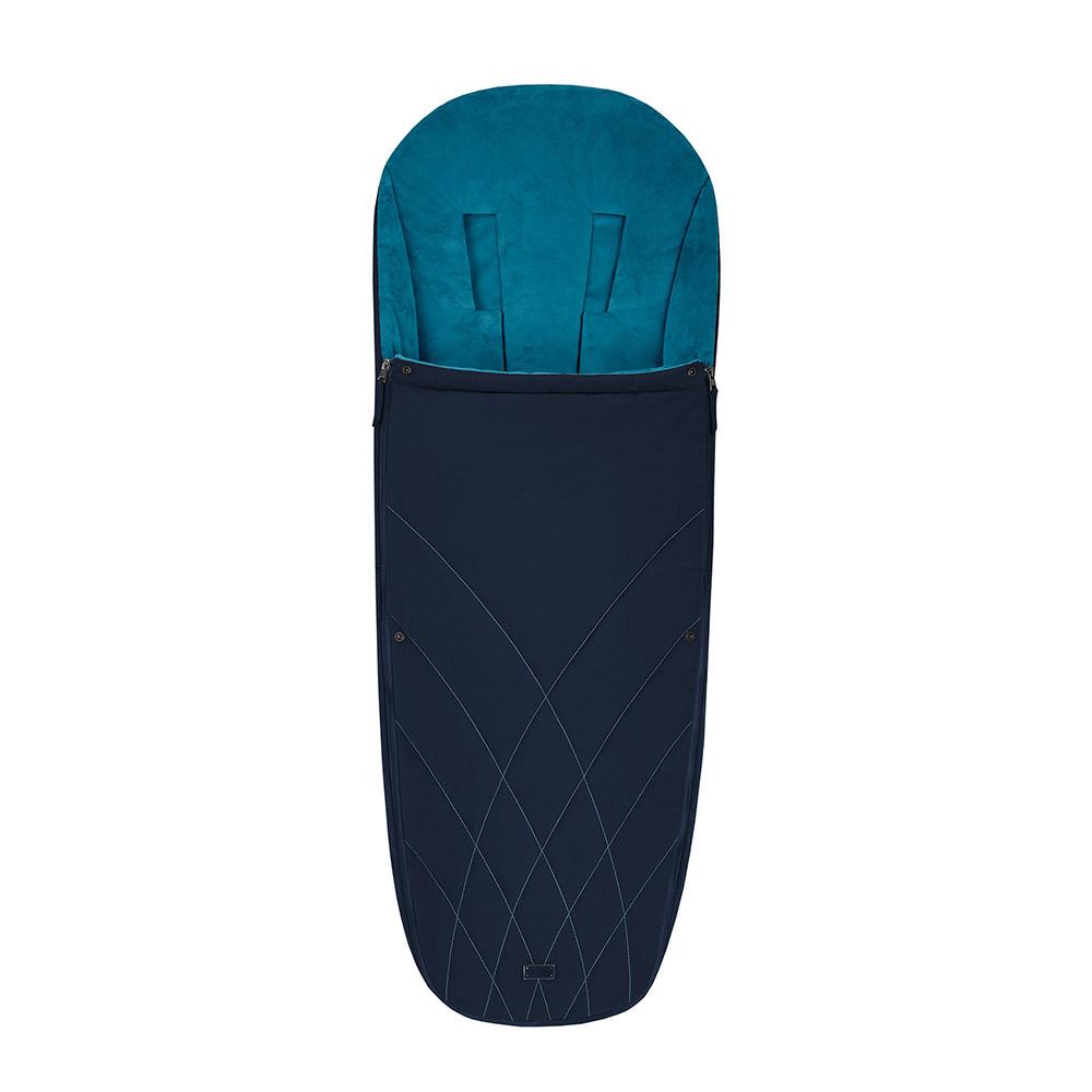 Теплые конверты для коляски Cybex Теплый конверт в коляску Cybex Priam Footmuff Nautical Blue 10342_1_92-Platinum-Footmuff-Design-Nautical-Blue.jpg