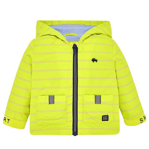 Куртка Mayoral салатовая в полоску