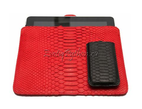 Чехол из кожи питона для iPad CV-12
