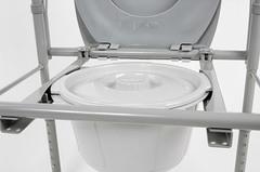 Кресло-туалет для полных людей разборный 10589