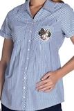 Блузка для беременных 08503 полоска