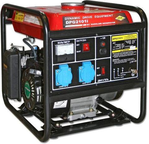 Генератор бензиновый инверторного типа DDE DPG2101i (1ф ном/макс. 2,4/2,6 кВт, т/бак 9 л, (DPG2101i), шт