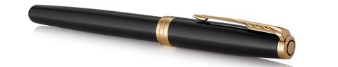 Ручка роллер Parker Sonnet Lacquer Deep Black GT123