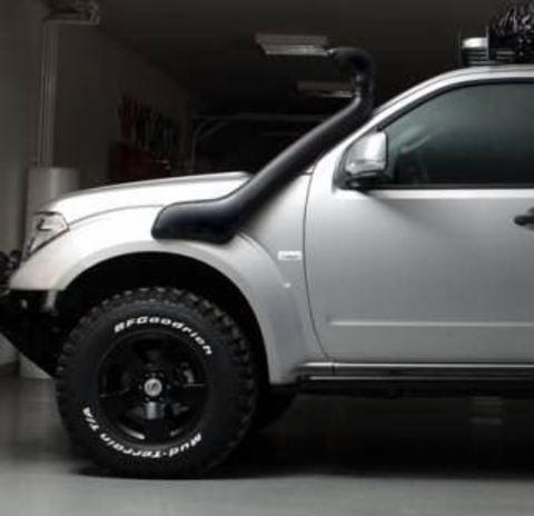 Установка шноркеля на Nissan Pathfinder