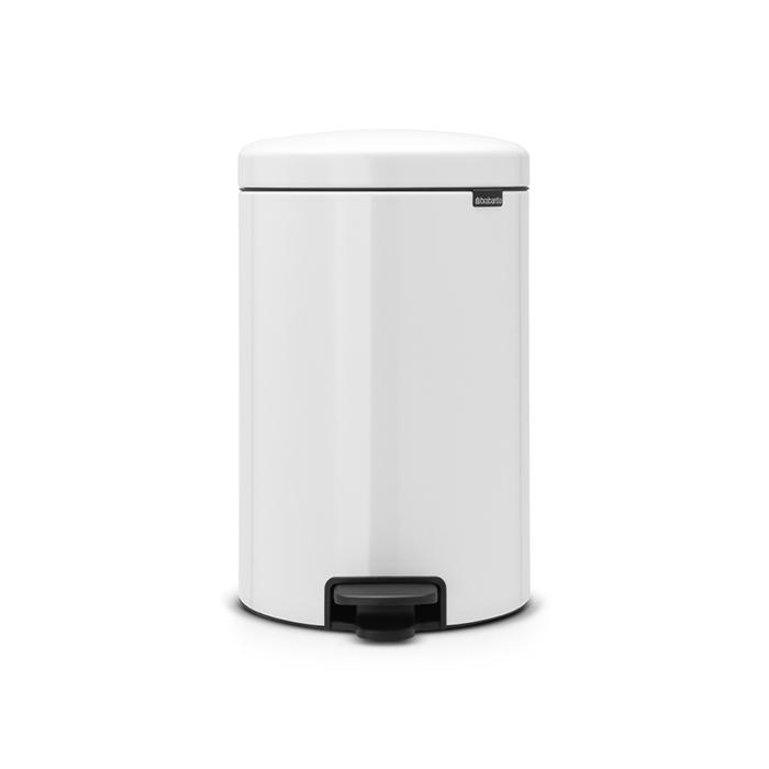 Мусорный бак newicon (20 л), Белый, арт. 111846 - фото 1