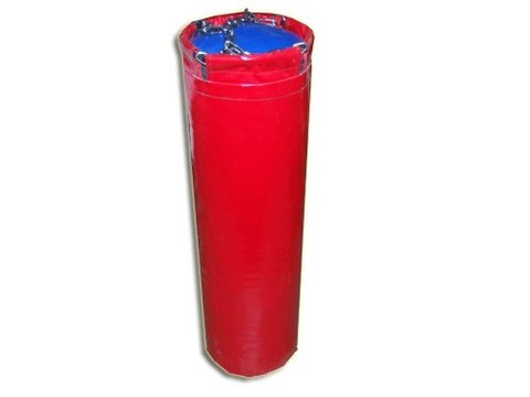 Мешок боксерский цилиндр 30 кг. Наполнитель:  песок, опилки.