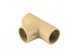 Тройник соед. для трубы 25 мм (5шт) ЭКО
