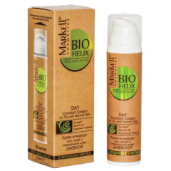 MRK (BIO-HELIX) Крем-комфорт с муцином улитки для сухой и нормальной кожи дневной ,50 мл