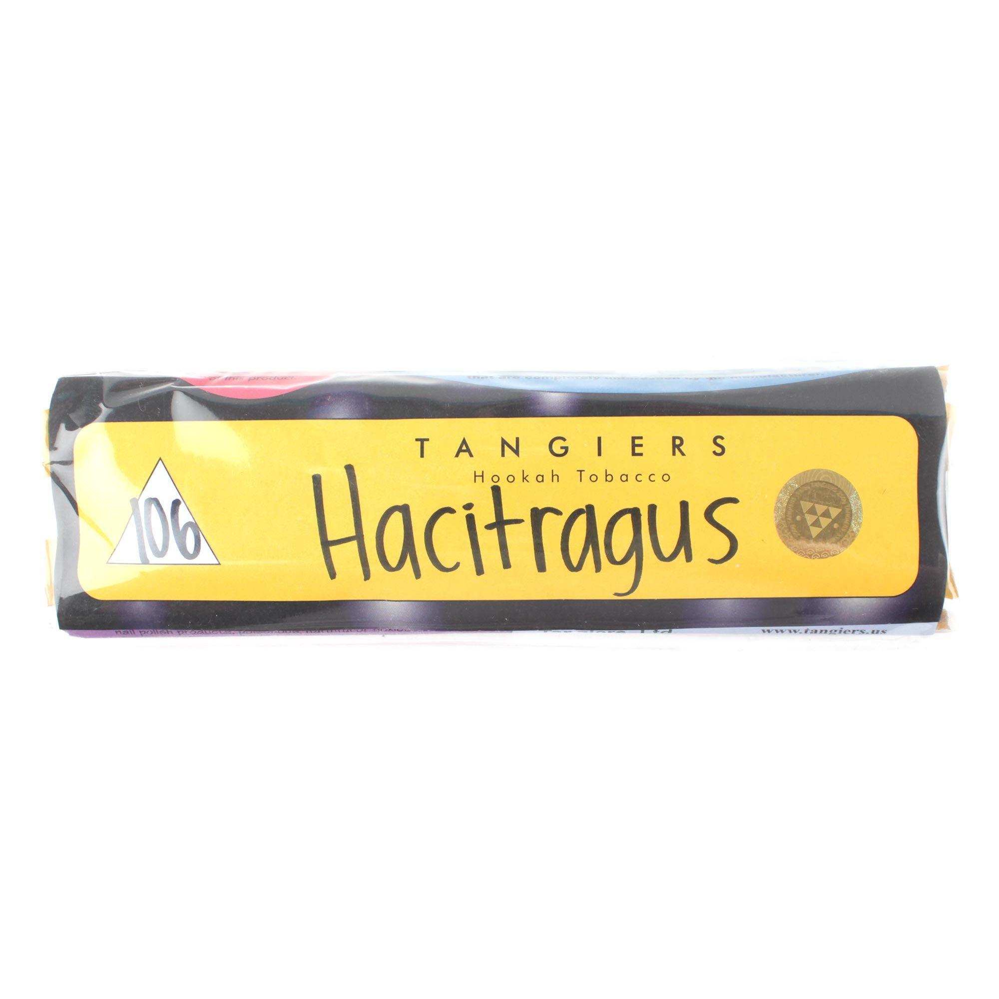 Табак для кальяна Tangiers Noir (желтый) 106 Hacitragus 250 гр