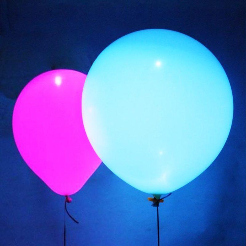 Светящиеся шары Большой светящийся шар 50 см с гелием для больших помещений 18svet.jpg