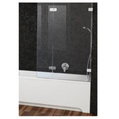 СПЕЦЗАКАЗ Шторка на борт ванны распашная 130х150 левая Ravak Brilliant BVS2 100 L GR3009/07/K фото