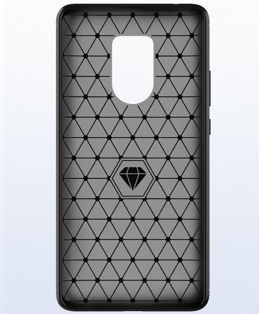Чехол Huawei Mate 20X цвет Gray (серый), серия Carbon, Caseport