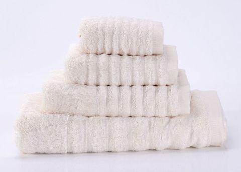Wellness-1 кремовое махровое  полотенце Valtery