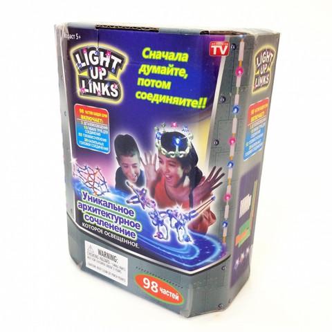 light up links детский светящийся конструктор 98 частей