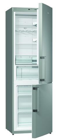 Двухкамерный холодильник Gorenje NRK6191GHX