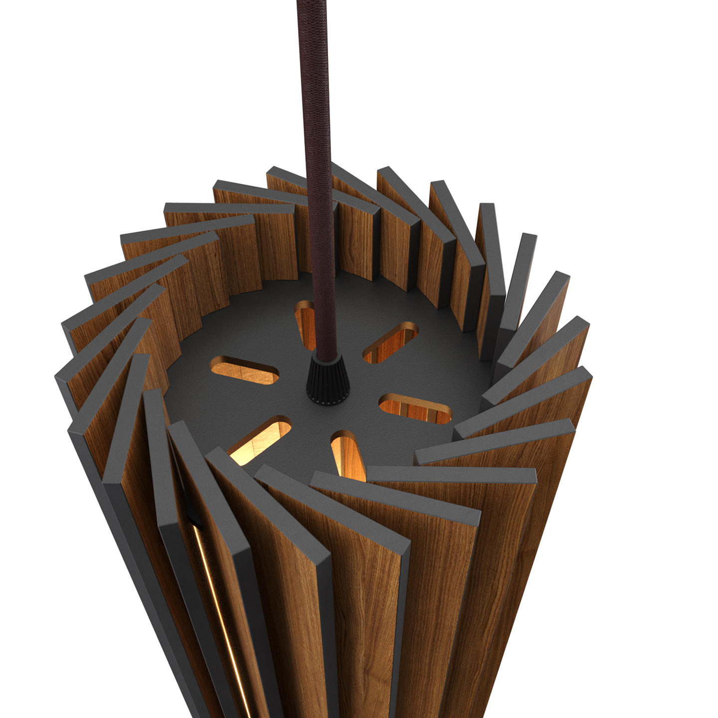 Подвесной светильник Woodled Ротор Спот