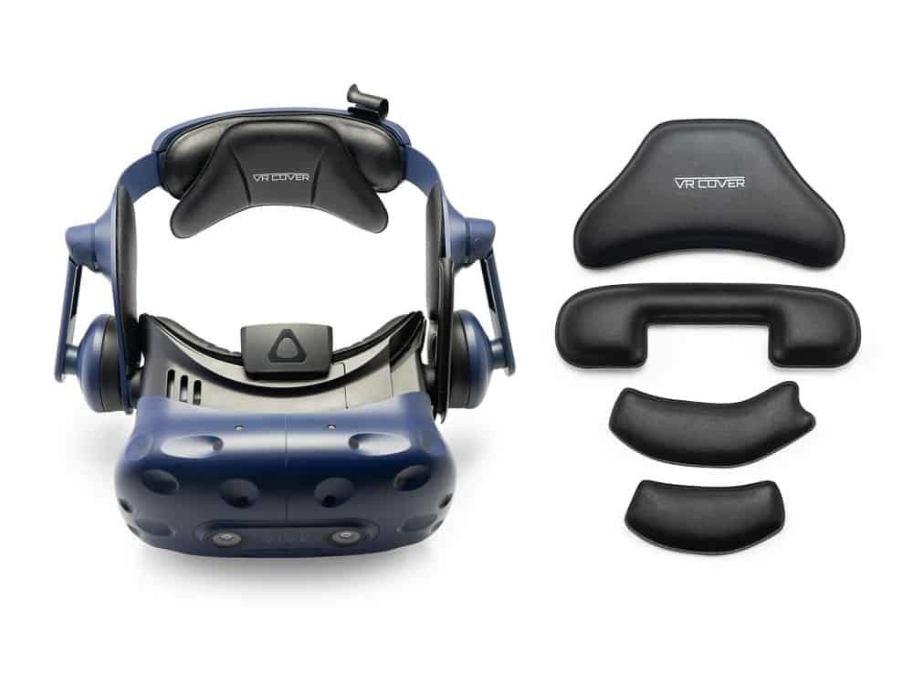 Сменный кожаный комплект накладок и ремешков крепления для шлема HTC VIVE PRO