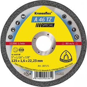 Отрезной круг 125*1.6*22мм А46TZ Special (187171)