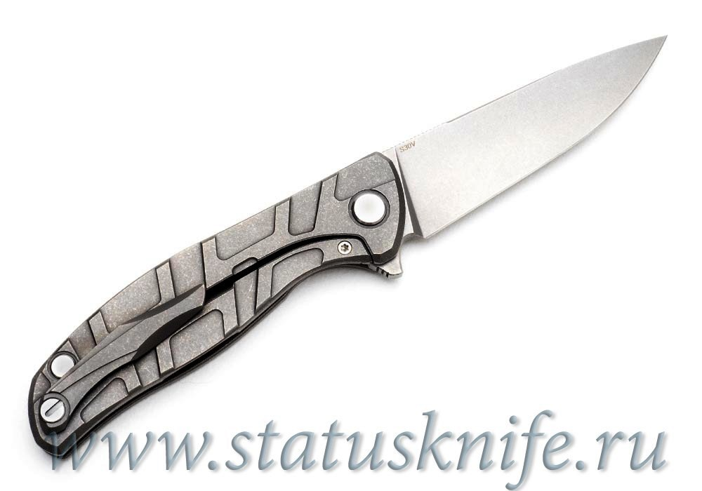 Нож Широгоров Flipper 95 S30V 2 фаски Кастом - фотография