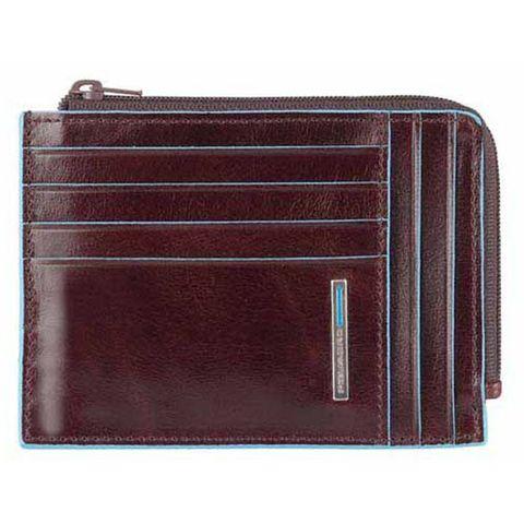 Чехол для кредитных карт Piquadro Blue Square (PU1243B2R/MO) коричневый кожа