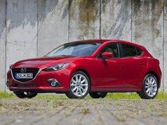 Чехлы на Mazda 3 хетчбек 2014–2019 г.в.