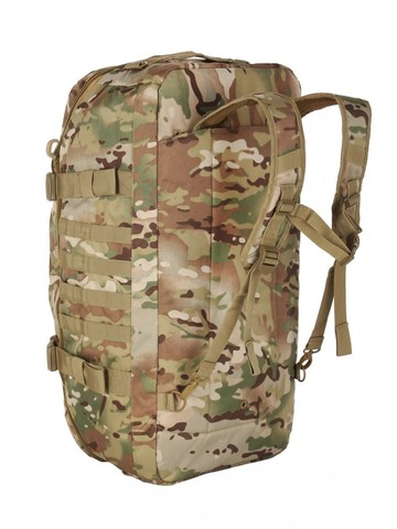 Тактический рюкзак сумка (баул) Gongtex Traveller Duffle Backpack (55 л), Мультикам