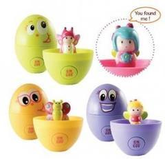 Ouaps МИМИ - Угадай где, развивающая игрушка в яйце (61058Ou)