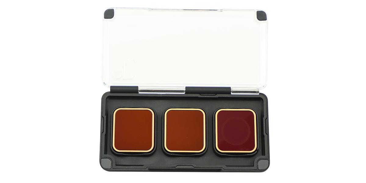 Набор фильтров PolarPro Cinema Series Filter 3-Pack в контейнере вид спереди