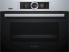 Компактный Духовой Шкаф-Пароварка Serie 8 Bosch CSG656RS7 фото