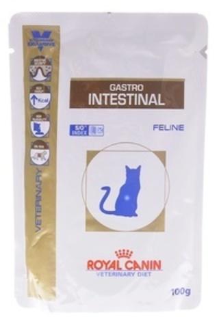 Gastro Intestinal - для кошек при нарушении пищеварения 100г.